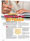 Female magazine article - What My Money Journal Reveals